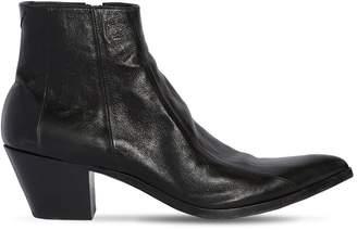 Saint Laurent 60mm Finn Leather Ankle Boots