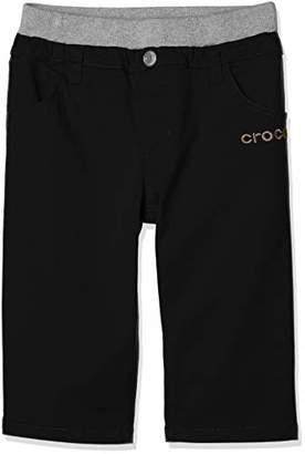 Crocs (クロックス) - [クロックス] CROCSツイルハーフパンツ ボーイズ 119648 ブラック 日本 160 (日本サイズ160 相当)