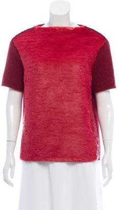 Marc Jacobs Sequin-Accented Rib Knit Sweater