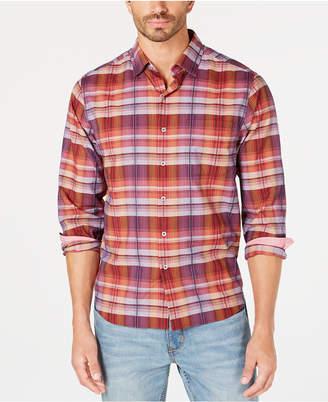 Tommy Bahama Men's Puerto Prism Plaid Shirt