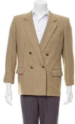 Burberry Vintage Cashmere Double-Breasted Blazer