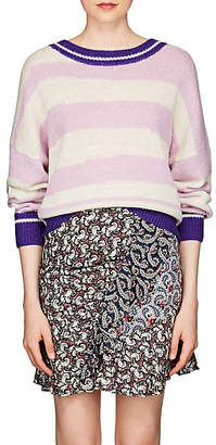Etoile Isabel Marant Women's Glowy Striped Alpaca-Blend Sweater - Lilac