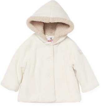 Il Gufo Faux Fur Lined Hooded Jacket