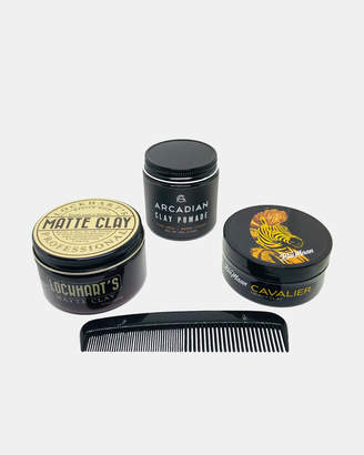 The Pomade Shop Essential Clay Pack