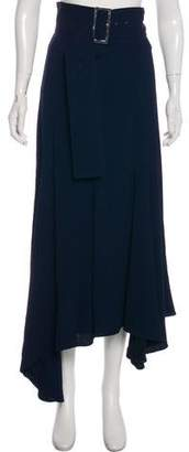 Celine Belted Fluted Skirt