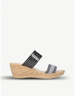 Carvela Comfort Saskia wedge sandals