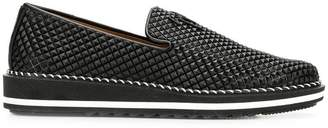 Giuseppe Zanotti Design pyramid stud loafers