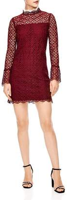 Sandro Helian Lace Mini Dress
