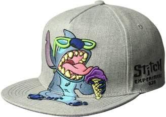 Disney Men's Stitch Full Body Baseball Cap Flat Brim Adjustable Hat