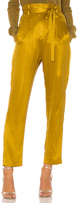 Mason by Michelle Mason Paperbag Cropped Trouser
