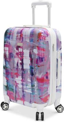 "Steve Madden Plaid 24"" Expandable Hardside Spinner Suitcase"