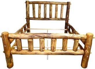 Mountain Woods Furniture Aspen Heirloom Plateau Platform Bed Mountain Woods Furniture