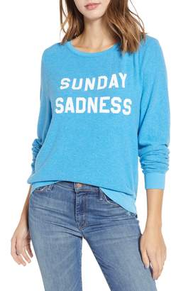 Wildfox Couture Baggy Beach Jumper - Sunday Sadness Pullover