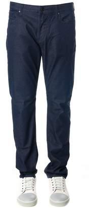 Emporio Armani Blue Denim Elastic Cotton Jeans