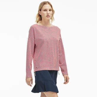 Lacoste (ラコステ) - ボーダースウェットシャツ