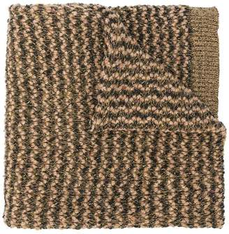 Twin-Set knitted scarf