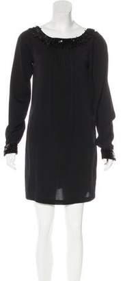 Rachel Zoe Silk Embellished Dress
