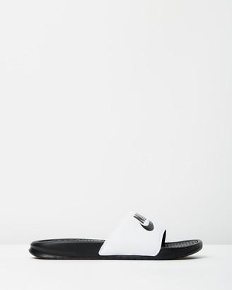 "Nike Men's Benassi ""Just Do It"" Slides"