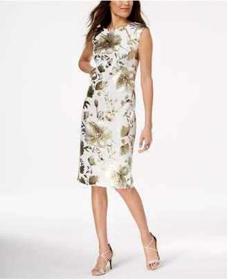 Thalia Sodi Floral-Print Sheath Dress, Created for Macy's