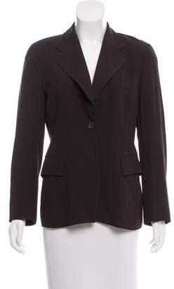 Dries Van Noten Structured Button-Up Blazer