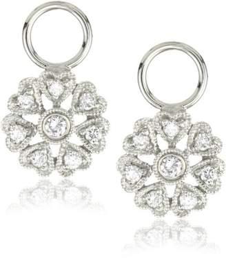 "KC Designs Charmed Life"" Diamond 14k Gold Flower Ear Charm"