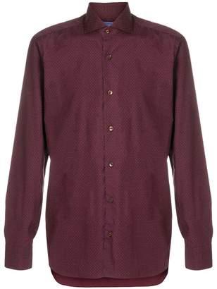 Barba dot print shirt