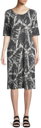 Masai Narcissi Graphic-Print Jersey Dress