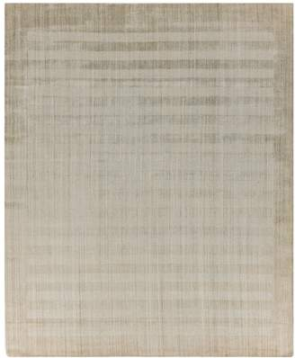 Exquisite Rugs Robin Wide Stripe Bamboo Silk & Wool Rug