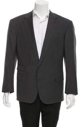 Ralph Lauren Purple Label Wool Two-Button Blazer