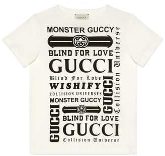 Gucci Children's T-shirt with logomania print