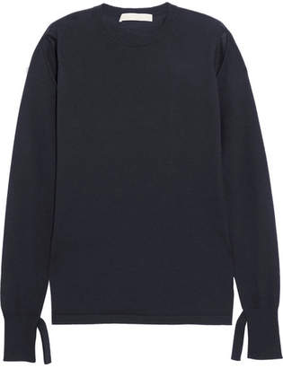 Dion Lee Cutout Cashmere Sweater - Navy