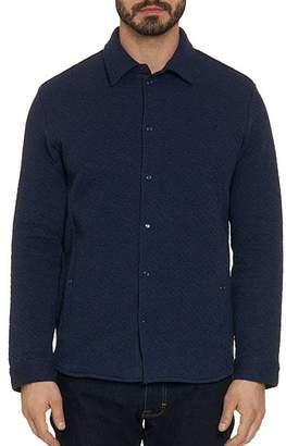 Robert Graham Justin Textured Tailored Fit Shirt Jacket