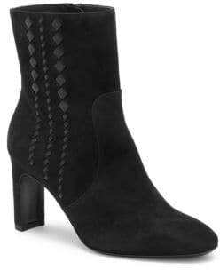 Bottega Veneta Isabella Suede High-Heel Booties