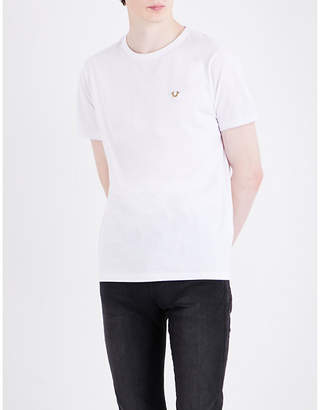 True Religion Logo-detail cotton-jersey T-shirt