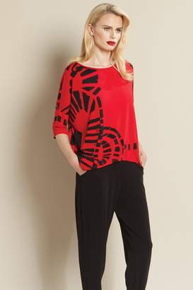 Clara Sunwoo Printed Red Top