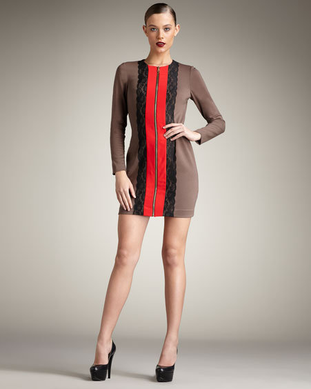 Jay Godfrey Prost Colorblock Dress