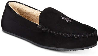 Polo Ralph Lauren Men's Dezi Micro-Suede Slippers