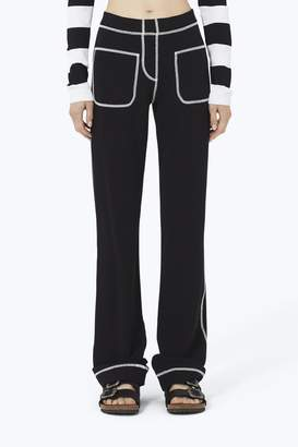 CONTEMPORARY Patch-Pocket Cotton Jersey Pant