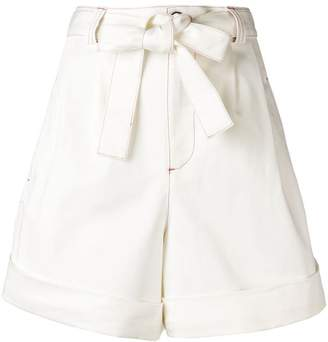 See by Chloe high-waisted shorts