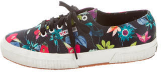 Superga Fanrasow Floral Print Sneakers $45 thestylecure.com