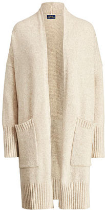Polo Ralph Lauren Wool-Blend Cardigan $398 thestylecure.com