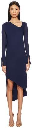 Neil Barrett Spiral Tech Knit Dress