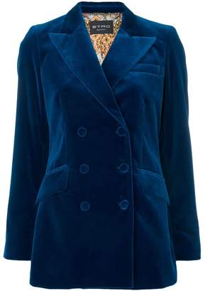 Etro double-breasted fitted blazer