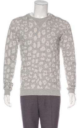 Marc by Marc Jacobs Printed Crew Neck Sweatshirt