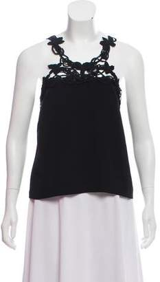 Behnaz Sarafpour Sleeveless Crossover Top