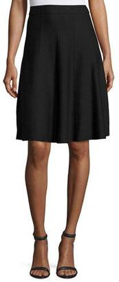 NIC+ZOE Paneled Twirl Skirt, Midnight $138 thestylecure.com