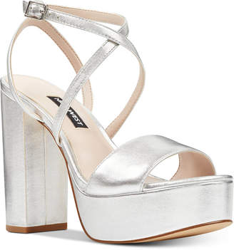 Nine West Markando Platform Dress Sandals Women's Shoes