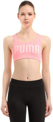 Puma Select Powershape Logo Lycra Sports Bra