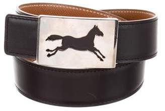 Hermes Vintage Reversible Horse Bit 32mm Belt Kit