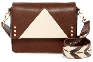 Steve Madden Scout Faux Leather Crossbody $78 thestylecure.com
